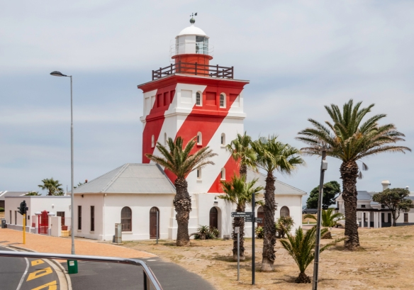 The Green Point lighthouse, Cape Town, South Africa