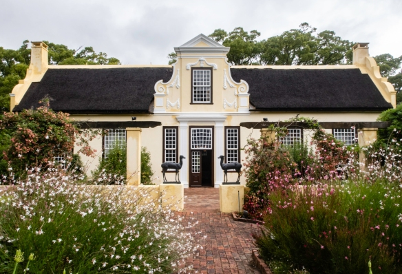 The Vergelegen homestead, well preserved and open to visitors, including many historical displays along with period furniture, Somerset West, South Africa
