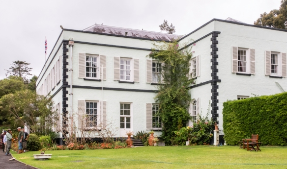 The historic, Georgian stone Plantation House is the permanent residence of St. Helena_s governor, Saint Helena Island, having been built in 1792 by the East India Company as a country