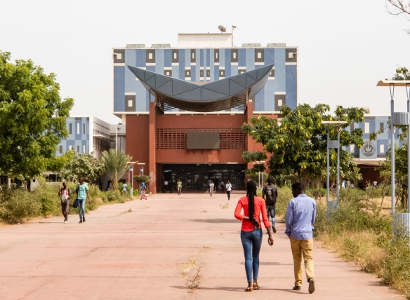 Université Cheikh Anta Diop or UCAD (Cheikh Anta Diop University), also known as the University of Dakar, traces its history back to a French school in 1918; at independence in 1960 th