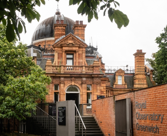 A close up of the (former) Royal Observatory; Greenwich, London, England