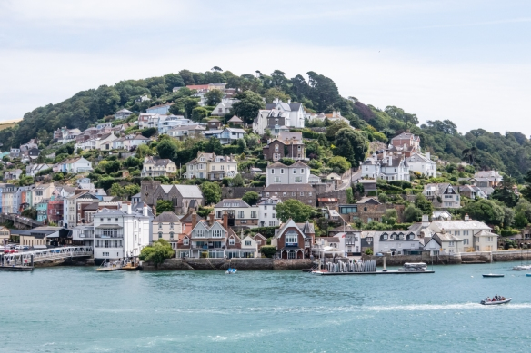Set opposite the town of Dartmouth, Kingswear, England, is a charming character village that has some of the most beautiful views across the River Dart