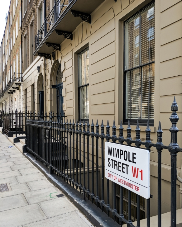 Wimpole Street, Marylebone, City of Westminster, London, England