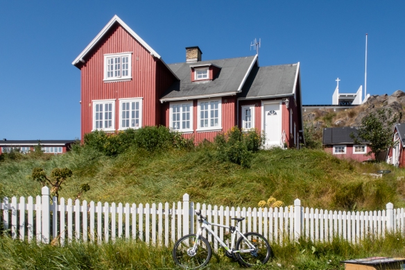 A large, stately home in Qaqortoq, Greenland