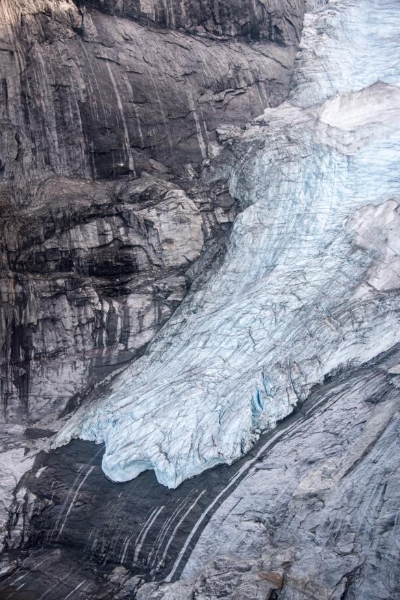 Aerial photo of Sam Ford Fjord (Kangiqtualuk Uqquqti), Baffin Island, Nunavut, Canada, #2
