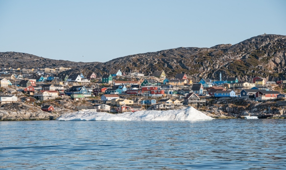 Aptly named, Ilulissat (icebergs) is the third largest settlement in Greenland and is Greenland's most popular tourist destination on account of its proximity to the picturesque Ilulissat Icefjord