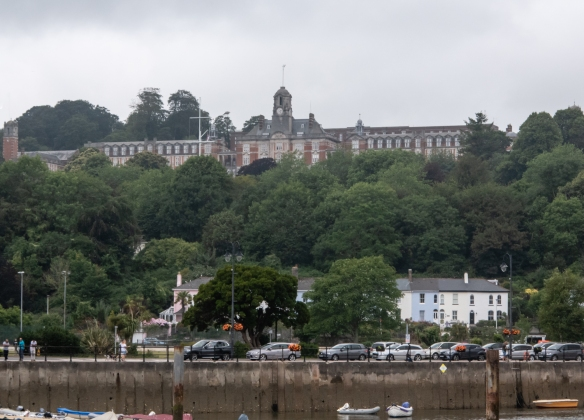 Britannia Royal Naval College (BRNC), commonly known as Dartmouth, is the naval academy of the United Kingdom [comparable to Annapolis in the United States] providing the initial officer training of the British Royal Navy
