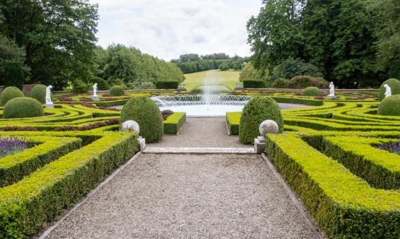 County Meath Country House's Gardens #1, Slane, Republic of Ireland