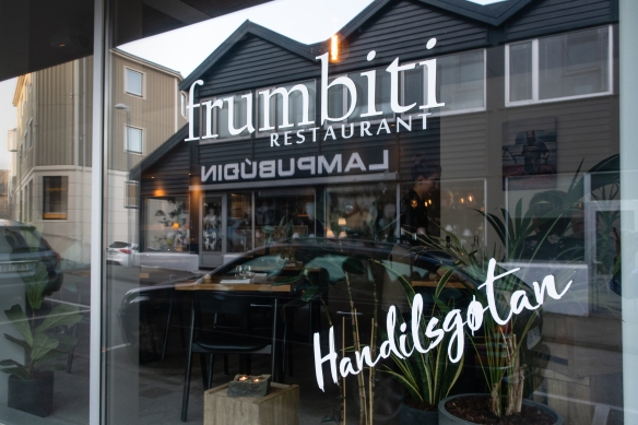 Frumbiti Restaurant in Tórshavn, Faroe Islands, focuses on offering the bounty that the Faroese nature has to offer -- the menu features both classic and seasonally inspired dishes from locally sourced meats, fish and vegetables