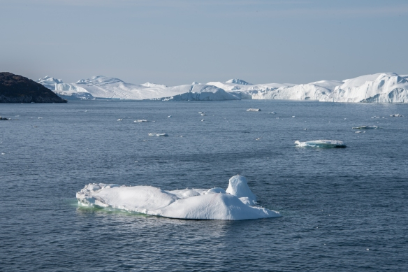 Sailing into Ilulissat, Greenland, through Disko Bay #2