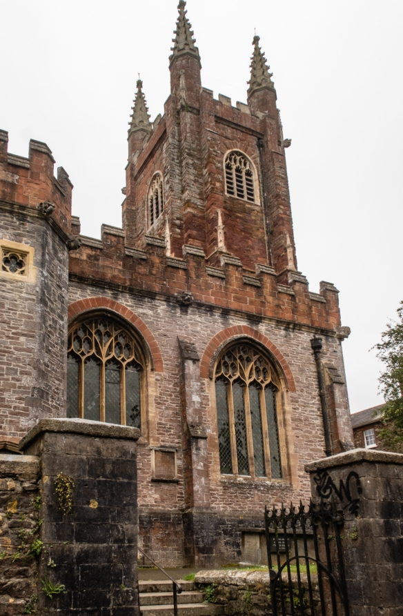 The 15th century Parish and Priory Church of St. Mary the Virgin, Totnes, England