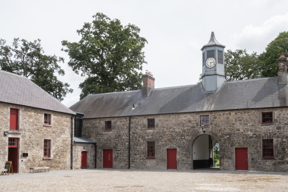 The distillery was carefully built in the landmark status stable buildings of Slane Caste, Slane, County Meath, Republic of Ireland