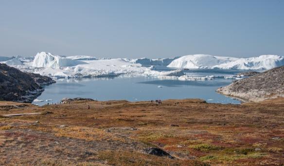 The Ilulissat Icefjord, Ilulissat, Greenland, viewed form Sermermiut valley #2