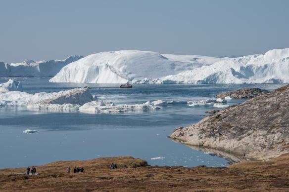 The Ilulissat Icefjord, Ilulissat, Greenland, viewed form Sermermiut valley #3