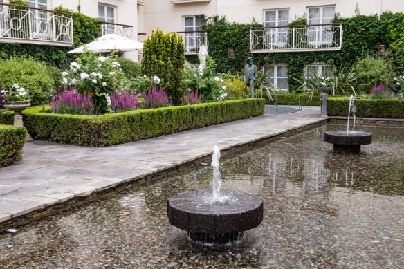 "The Merrion Gardens, The Merrion Hotel – ""As a city centre hotel, The Merrion is uniquely privileged to have two period gardens, designed by Jim Reynolds, the noted Irish landscape artist"", Dublin, Republic of Ireland"