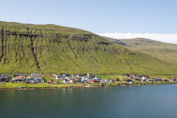 The port town of Kollafjørõur – where we docked -- served as our port of entry to the island's capital and largest town, Tórshavn, along with the neighboring islands