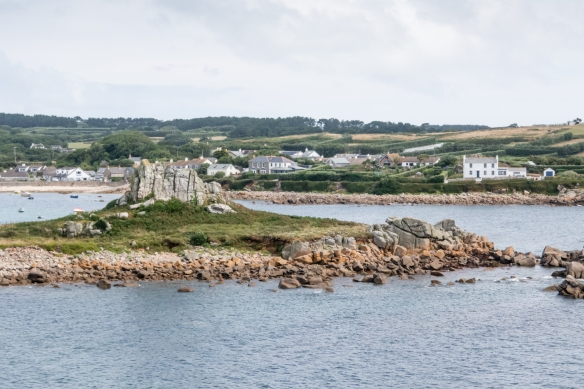 Walking around St. Mary's Island we came across many outcroppings, Isles of Scilly, England