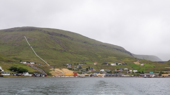 We sailed out form the small town of Vestmanna on Streymoy's northwest coast of the Atlantic Ocean in a sightseeing boat to tour the coastal Vestmannabjørgini (Vestmanna Birdcliffs and Grottos), Faroe Islands