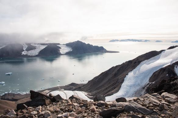 Aerial photo, Boger Bay, Ellesmere Island, Nunavut, Canada, #5