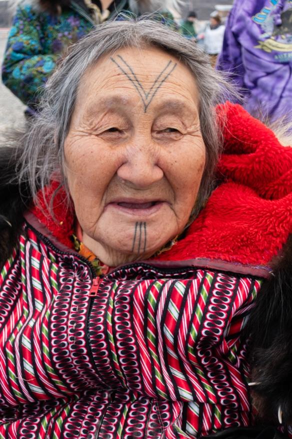 Inuit (local face #4) from Ulukhaktok, Victoria Island, Northwest Territories, Canada