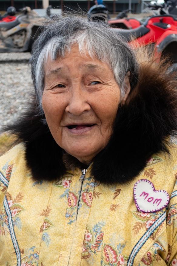Inuit (local face #5) from Ulukhaktok, Victoria Island, Northwest Territories, Canada