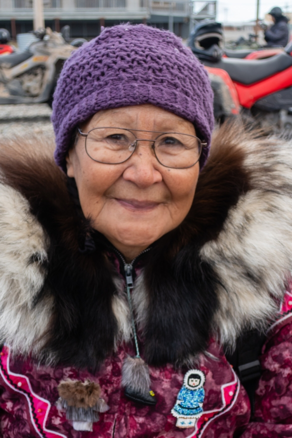Inuit (local face #6) from Ulukhaktok, Victoria Island, Northwest Territories, Canada