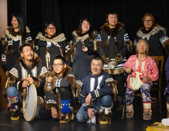 Inuit (local face #9) from Ulukhaktok, Victoria Island, Northwest Territories, Canada