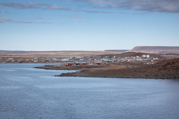 "Located on the west side of Victoria Island on the Amundsen Gulf in the Northwest Territories, the small Inuvialuit hamlet of Ulukhaktok (meaning ""place where one finds material to make ulus"") is named for the ulu knife"