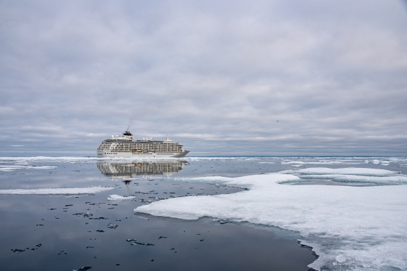 Pack ice #4 in Peel Sound, Northwest Passage, Nunavut, Canada
