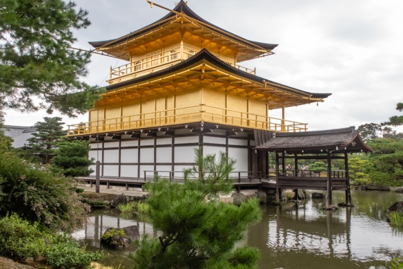 In 1994, Kinkaku (The Golden Pavillion) and Rokuon-ji Temple were registered as a UNESCO World Cultural Heritage Site, Kyoto, Honshu Island, Japan