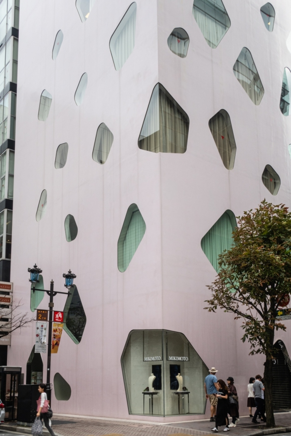 Tokyo architecture walk, Honshu Island, Japan #1 – Mikimoto Pearls building in the Ginza district