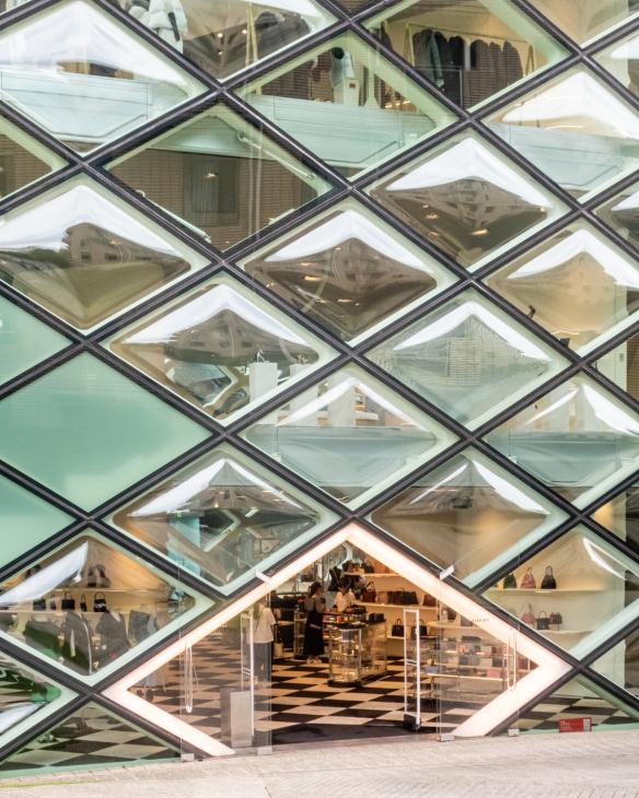 Tokyo architecture walk, Honshu Island, Japan #12 – the Prada retail store in the fashionable Aoyama district