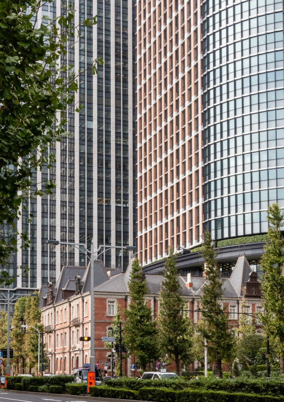 Tokyo architecture walk, Honshu Island, Japan #8 – a mix of architectural styles (old and new)