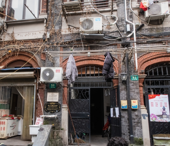 59 Zhoushan Road, Shanghai, China, in the Jewish Ghetto, was the former home of W. Michael Blumenthal, former United States Secretary of the Treasury (who lived here as a child refugee with his family from 1939 to 1947)