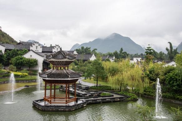 Karst mountains seen from the Banyan Tree Yangshuo Resort, Yangshuo (near Guilin), Guangxi, China #3
