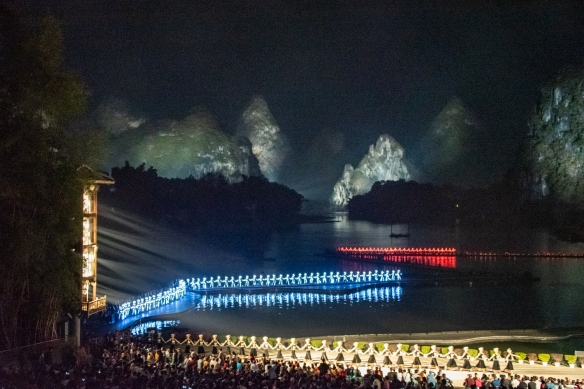 """The last chapter of the story-performance is the """"Silvery Impression- Performance Grand Ceremony"""" -- as the 'Wonder of Lijiang Culture', this scenery reflects the traditional ceremony in Sanjie's hometown according to the legend"""