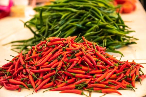 The local fresh food market; Yangshuo, Guangxhi, China #1