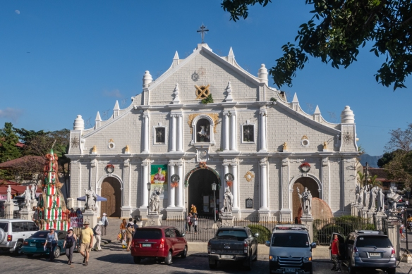 Built in the 16th century, but completed more than 200 years later, St. Paul's Cathedral was designed in the Baroque architectural style with modifications to support itself during earthquakes, Vigan, Philippines