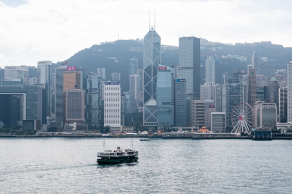 "The Star Ferry is the easiest and least expensive transit mode from Kowloon (on the ""Mainland"" side of Hong Kong) – where our ship was docked at Ocean Terminal near the Peninsula Hotel at Nathan and Salisbury Roads -- to ""Central"""