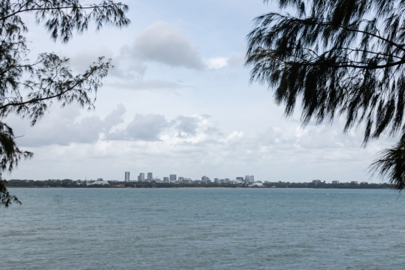 Darwin, the capital of Northern Territory, Australia, seen from East Point Reserve, home of a major military installation during World War II (to protect Australia from a feared Japanese invasion