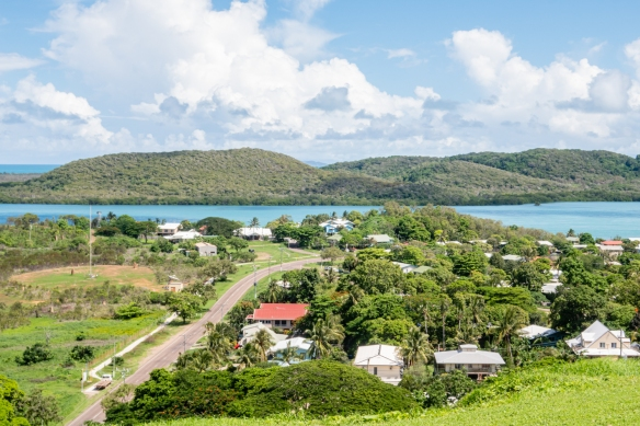 Green Hill Fort, Thursday Island, Torres Strait Islands, Queensland, Australia #5; a view of a residential section of Thursday Island