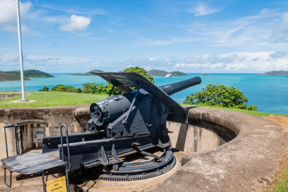 Green Hill Fort, Thursday Island, Torres Strait Islands, Queensland, Australia #6; the guns at the fort were remarkably well preserved, especially given the harsh weather