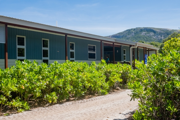 The main research building of the Lizard Island Research Station; Lizard Island, Queensland, Australia