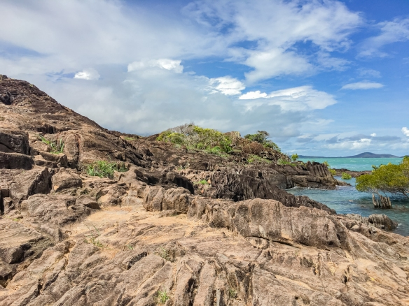 The terrain at the northern end of the cap was quite rocky and rugged; Cape York, Queensland, Australia