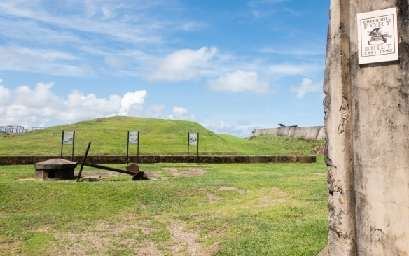 Welcome to Green Hill Fort, one of the highest points on Thursday Island, Torres Strait Islands, Queensland, Australia