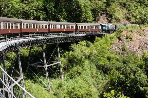 The journey on the Kuranda Scenic Railway itself holds just as much appeal as the destination, an apt description of our scenic outing to the village of Kuranda; Cairns, Queensland, Australia