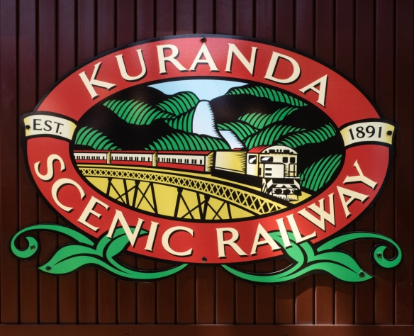 With the discovery of gold (1873) in the mountains above Cairns, construction on the Kuranda (Scenic) Railway began in 1887 to provide a reliable supply route to the gold country
